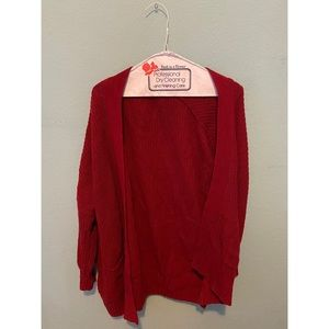 Urban outfitters BDG red cardigan